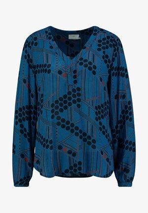 KAMARIA AMBER BLOUSE - Blouse - moroccan blue