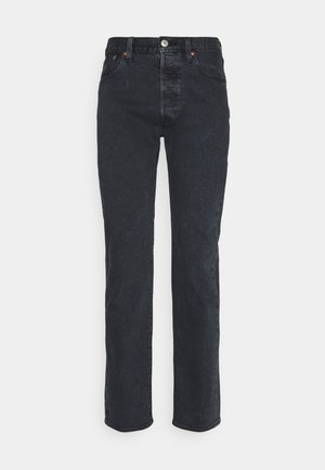 501 ORIGINAL FIT UNISEX - Jean droit - dark indigo worn in