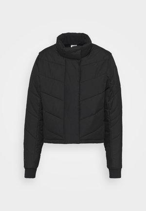 THERMA FIT REPEL  - Waistcoat - black/dark smoke grey