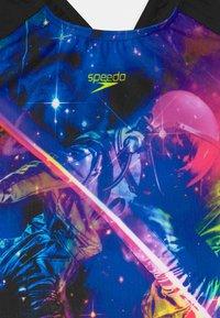 Speedo - DIGI - Swimsuit - black/violet - 2