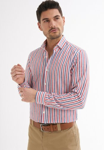 RENDO GESTREIFTES MUSTER - Shirt - rot