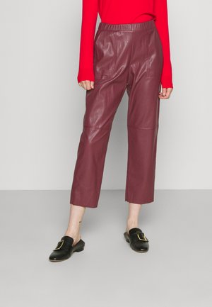 COLOSSO - Trousers - burgundy
