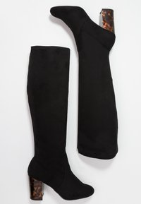 New Look Wide Fit - WIDE FIT DARBLE - Bottes - black - 3