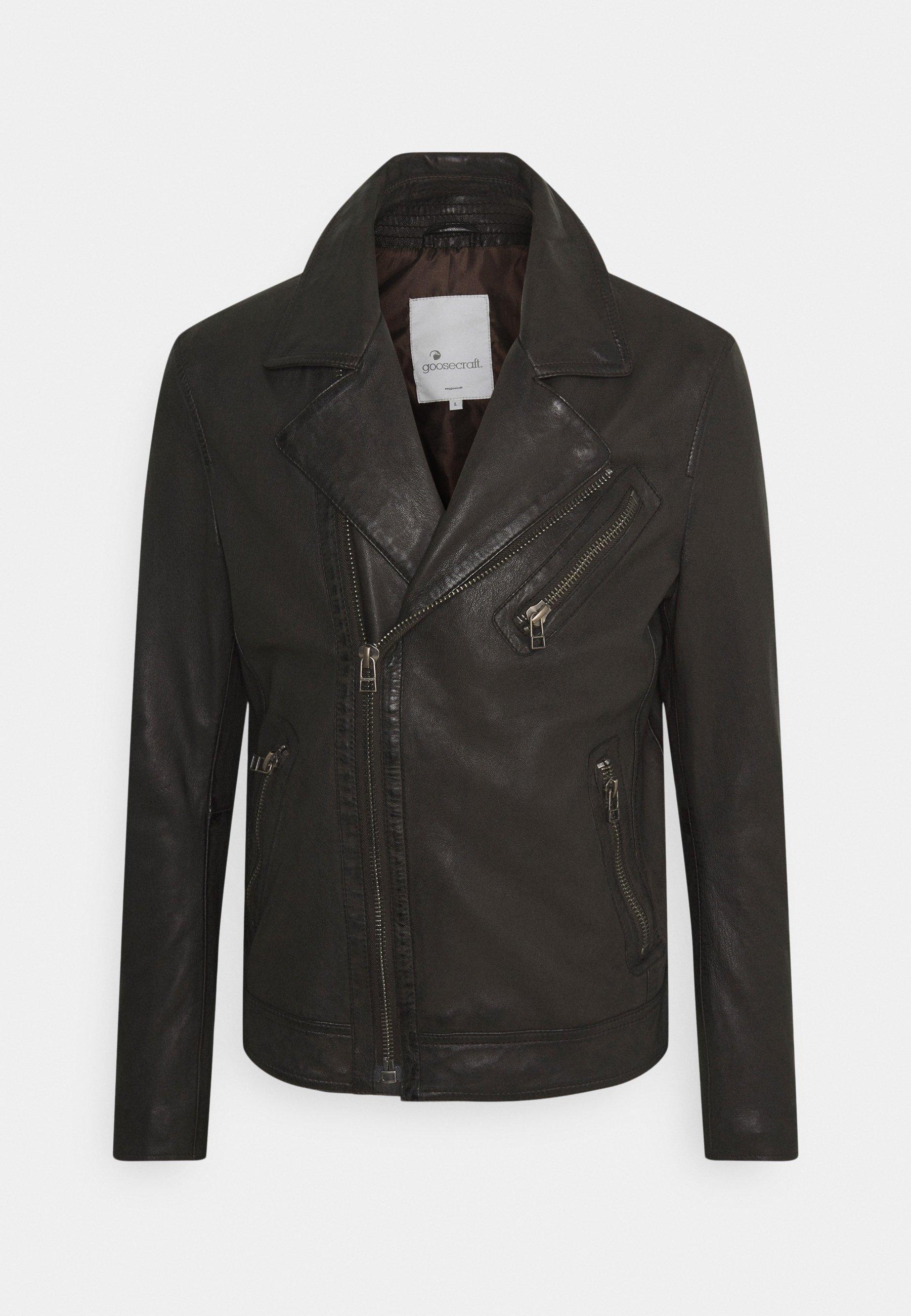 Men TRISTAN  - Leather jacket
