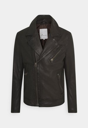 TRISTAN  - Leather jacket - comet