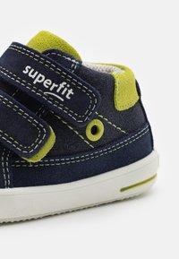 Superfit - MOPPY - Touch-strap shoes - blau/grün - 5