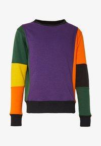 OOSC - CARLTON  - Sweatshirt - purple/orange/green/black/red - 3