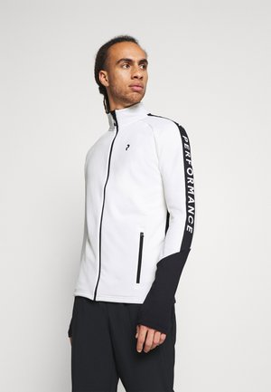 RIDER ZIP JACKET - Fleece jacket - offwhite