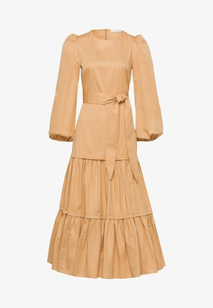 ANKLELENGHT - Maxi dress - gold