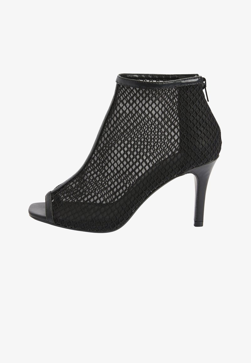 Next - MESH OPEN TOE - Peep toes - black