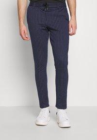 Anerkjendt - BUDDY PANTS - Trousers - sapphire - 0
