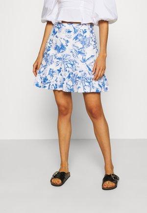HISSO  - A-line skirt - white