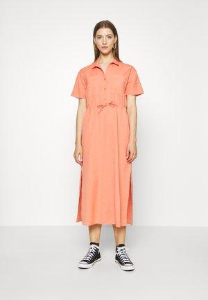 DRESS - Day dress - rostrot/rot