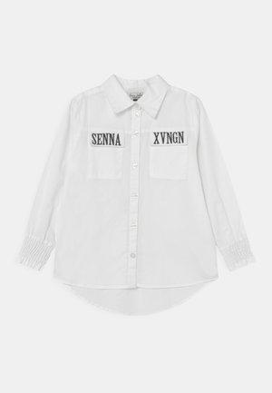 LENNA - Button-down blouse - real white