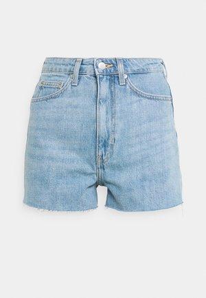 ROWE - Denim shorts - blue moise