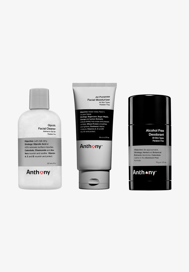 ANTHONY BASICS KIT - Skincare set - -
