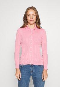 Trendyol - SIYAH - Cardigan - candy pink - 0