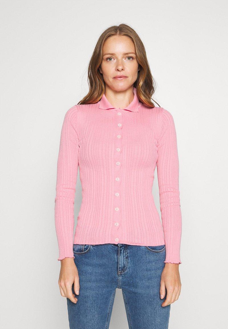Trendyol - SIYAH - Cardigan - candy pink