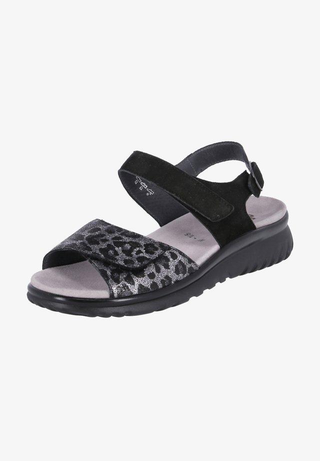 LAURA - Sandals - schwarz