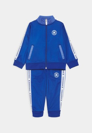 CHUCK TRICOT SET - veste en sweat zippée - blue