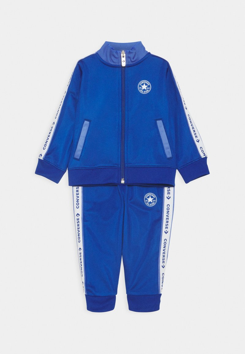 Converse - CHUCK TRICOT SET - Zip-up hoodie - blue