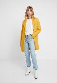 comma casual identity - Classic coat - yellow - 1