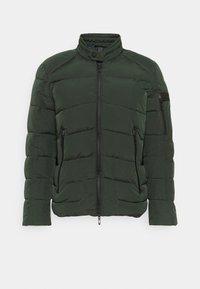 Antony Morato - COAT IN TECHNO FABRIC CONTRAST IN COMPOUNDNYLON - Light jacket - bottle green - 3