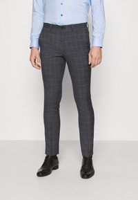 Jack & Jones PREMIUM - JPRBLAFRANCO MIX SUIT - Kostuum - dark grey - 4