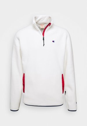 HALF ZIP - Fleece jumper - white