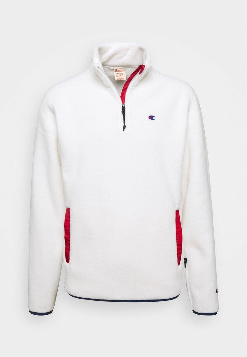 Champion Reverse Weave - HALF ZIP - Fleecetrøjer - white