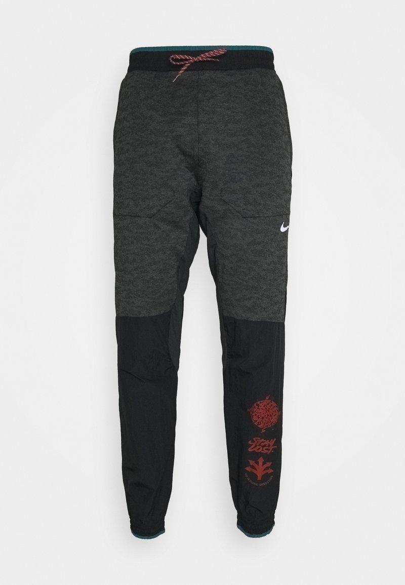 Nike Performance - ELITE PANT - Pantaloni sportivi - black/reflective silver
