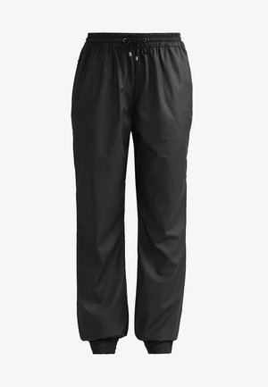 UNISEX TROUSERS - Joggebukse - black