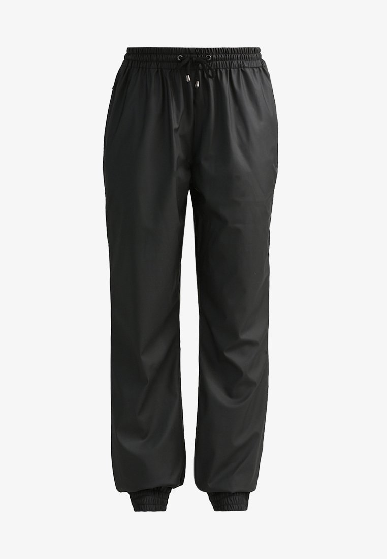 Rains - UNISEX TROUSERS - Teplákové kalhoty - black
