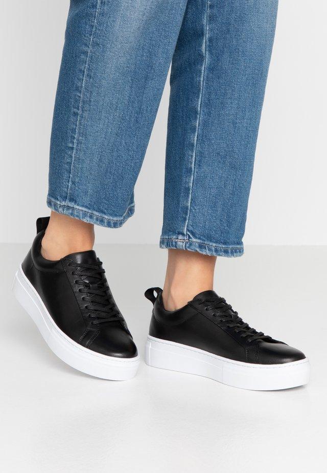 ZOE PLATFORM - Sneakers laag - black