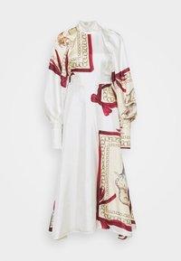 Victoria Beckham - DRAPED SLEEVE DRESS - Occasion wear - cream/bordeaux - 7