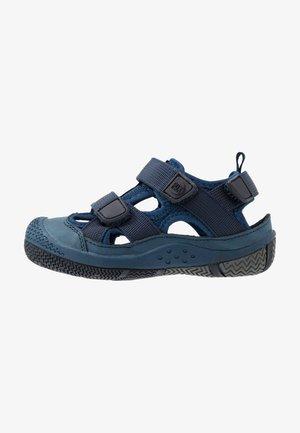 SAVIOR UNISEX - Walking sandals - navy