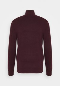 Burton Menswear London - CORE HALF ZIP - Jumper - burgundy - 1