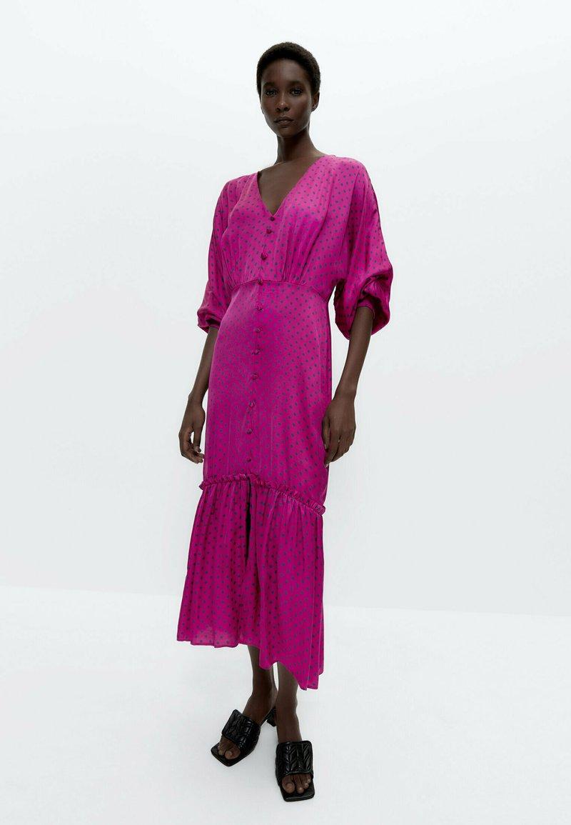Uterqüe - Day dress - pink