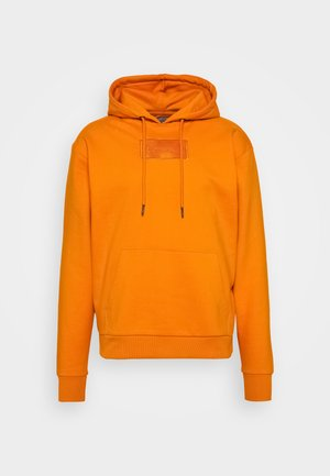 SMALL SIGNATURE BOX HOODIE UNISEX  - Sweatshirt - orange