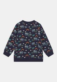 Frugi - REX RAINBOW AND ELEPHANT UNISEX - Sweatshirt - indigo - 1