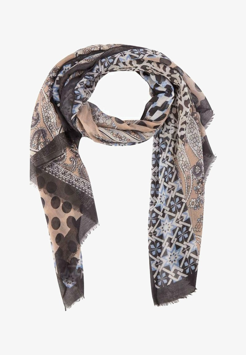 Soyaconcept - Scarf - brown/blue