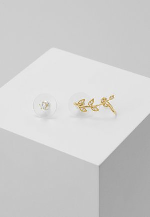 MINNA FUNKY BRANCHSET - Earrings - gold-coloured/clear