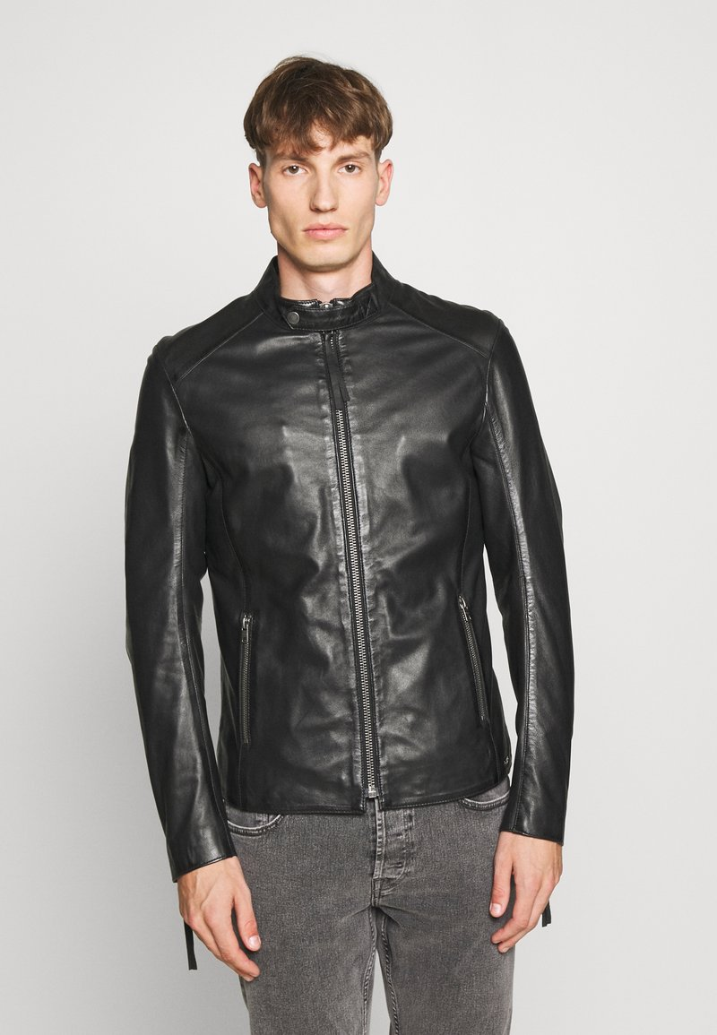 Tigha - DENZEL - Leather jacket - black