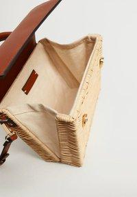Mango - TRIGO - Handtasche - middenbruin - 3
