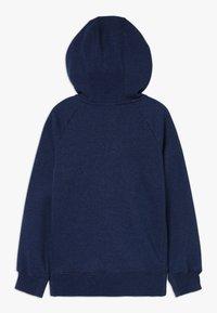 Nike Sportswear - FULL ZIP - Zip-up hoodie - blue void/heather/white - 1
