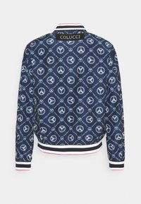 Carlo Colucci - SUMMER BLOUSON - Bomber Jacket - navy/white/red - 1