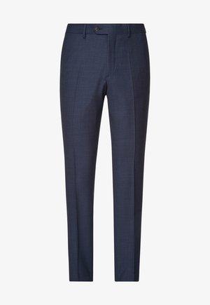 SPLIT BUCK SPLIT - Suit trousers - dark blue