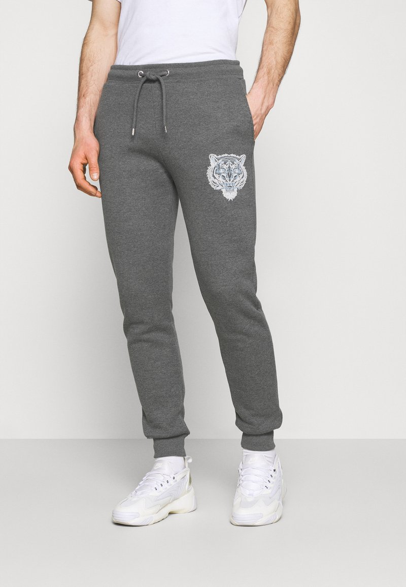 CLOSURE London - RIVAL - Tracksuit bottoms - anthrazit