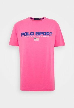 Print T-shirt - blaze knockout pink