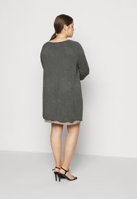 Even&Odd Curvy - Jumper - dark grey